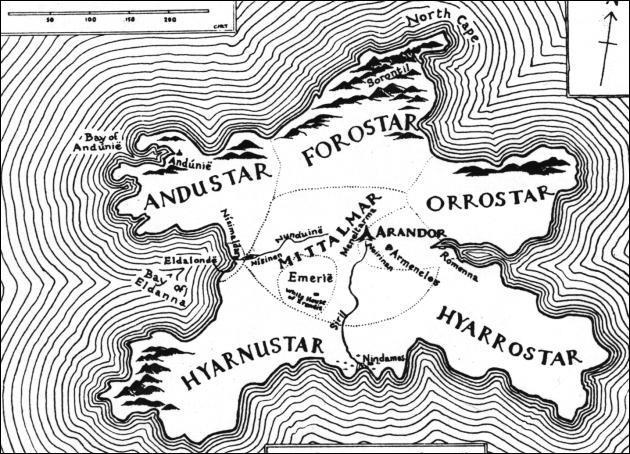 Dans le Silmarillion de Tolkien, c'est la montagne sacrée de Numenor (très geek, cette question) :