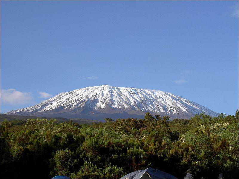 Pour terminer, une montagne magnifique, le Kilimandjaro : c'est la montagne sacrée des :