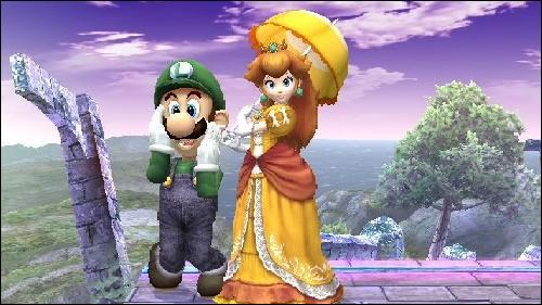 Qui est l'amie de Luigi ?