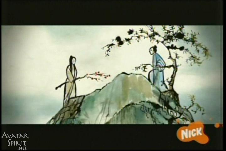 Une légende raconte que deux jeunes amoureux dont les villages respectifs étaient en guerre ont :