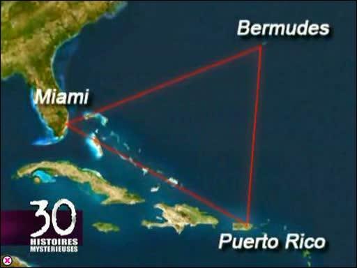 Le Triangle des Bermudes se situe-t-il dans l'Océan Atlantique, ou dans la Mer des Caraïbes ?