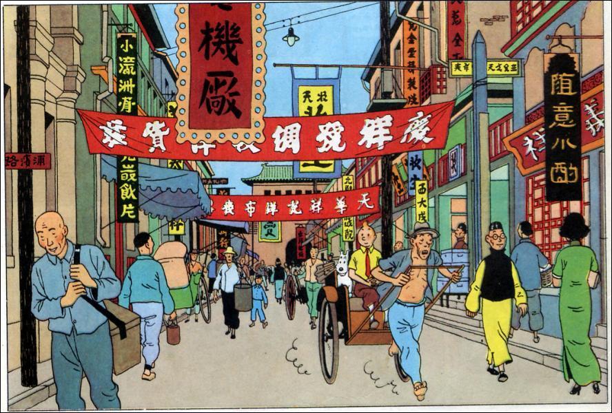 Dans quel album Tintin résout-il une affaire liée à une fumerie d'opium ?