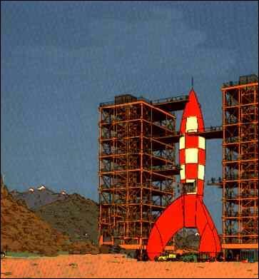 Qu'arrive-t-il aux Dupond et Dupont alors qu'ils sont dans la fusée qui les mènera sur la Lune ?