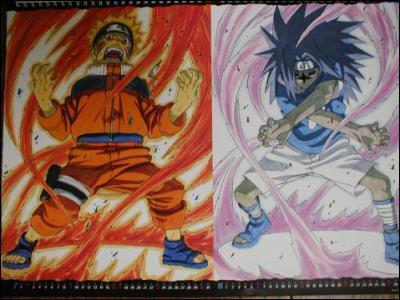 Qui intervient dans le premier combat entre Sasuke et Naruto ?
