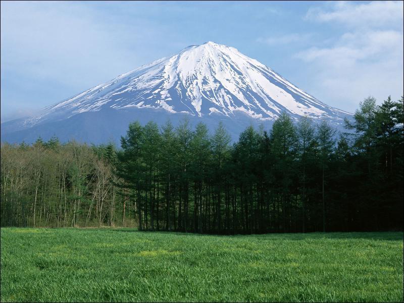 Quelle est la hauteur du mont Fuji ?