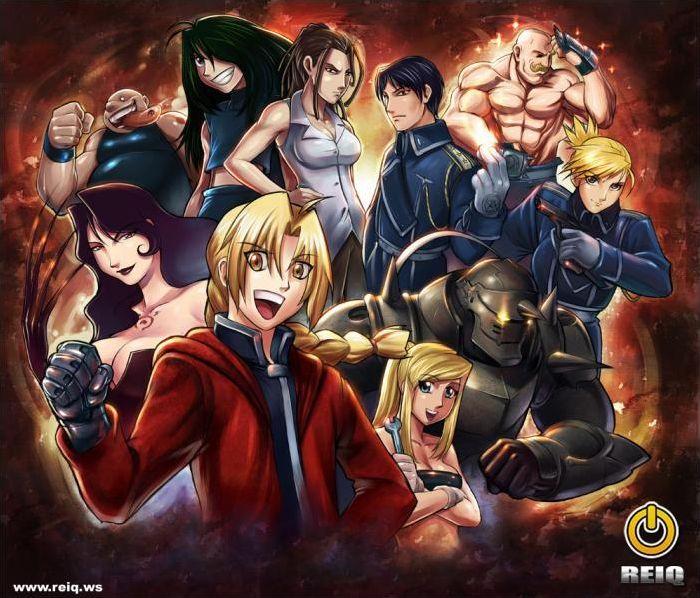 Detective Conan, Fullmetal Alchemist, Naruto