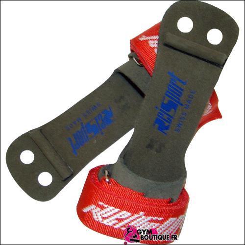 Comment s'appellent les sortes de gants que l'on met sur les mains pour la barre ?