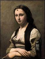 Quel peintre membre de l'école de Barbizon a réalisé 'Femme à la perle' ?
