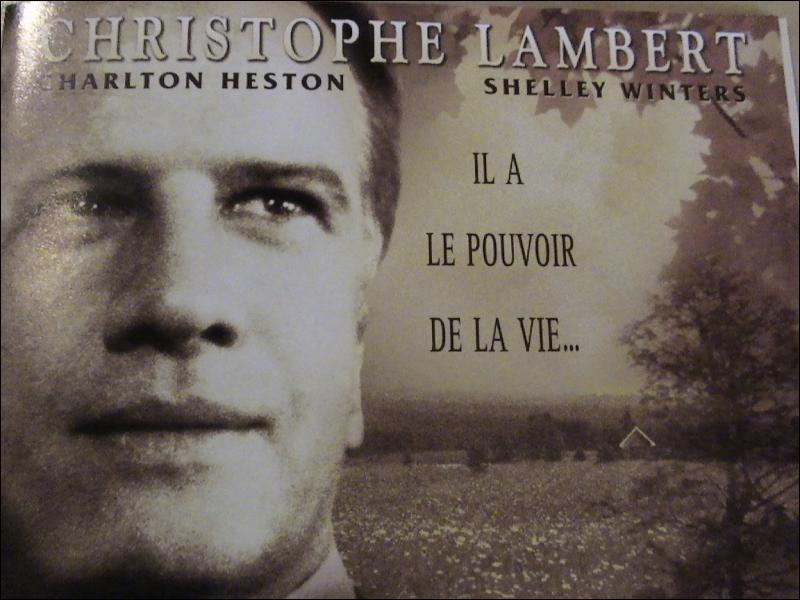 ' Gideon ' un film de Claudia Hoover avec Charlton Heston et Christophe Lambert.