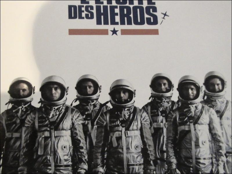 ' l'Etoffe des héros ' un film de Philip Kaufman avec Ed Harris, Dennis Quaid, Charles Frank, Sam Shepard. .