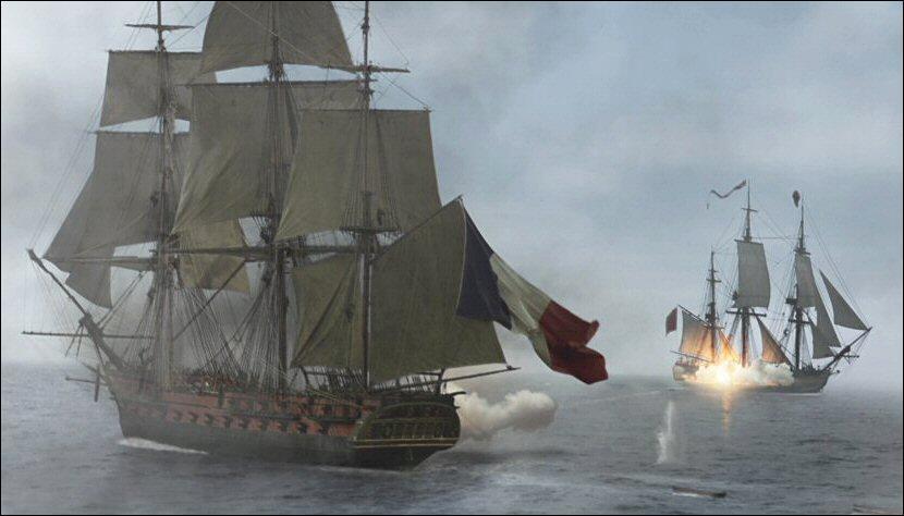 L'insaississable vaisseau français poursuivi par Russel Crowe dans Master and Commander est ...