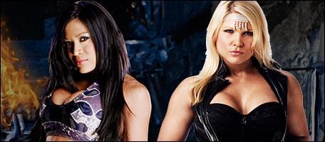 En quelle année Melina et Beth Phoenix ont fait le premier 'I Quit Match' féminin ?