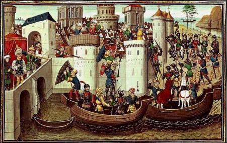Constantinople tombe aux mains des Turcs en ...