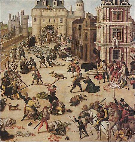 Quel est le nom qui rappelle le massacre des protestants au XVIe siècle ?