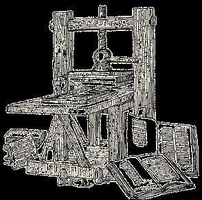 Gutemberg invente l'imprimerie en Occident. De quand date l'imprimerie ?