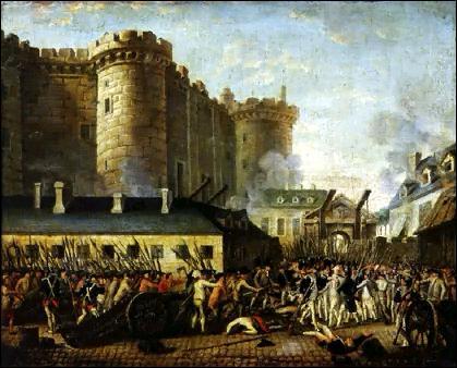 De quand date la prise de la Bastille ?