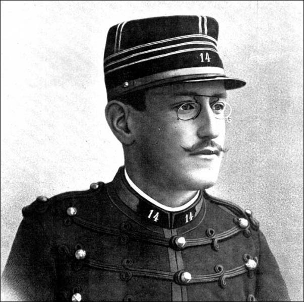 L'affaire Dreyfus date de ... . . (Troisième République)