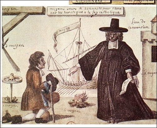 Par la révocation de l'édit de Nantes, la religion protestante est interdite en France. Quelle est la date de de cet édit de révocation également appelé édit de Fontainebleau ?