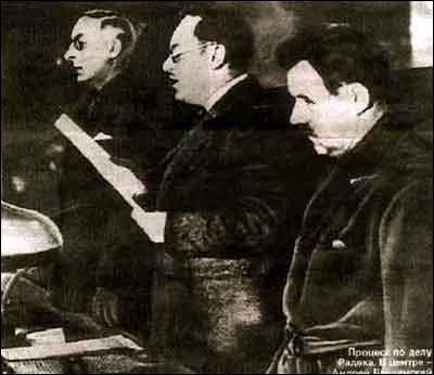 En URSS, sous Staline, de grands procès ont lieu. Cette période a été appelée 'Grande Terreur'. Quand ont eu lieu ces grandes purges ?