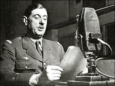 Suite à la débâcle française en mai-juin 1940, le général De Gaulle lance un appel à la résistance depuis Londres. De quand date cet appel ?
