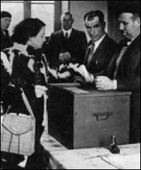De quand date le droit de vote accordé aux femmes ?