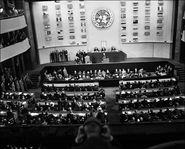 De quand date la Déclaration universelle des droits de l'homme ?