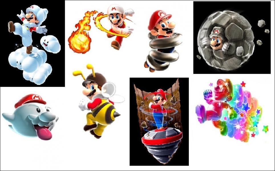 Quelles sont les nouvelles transformations pour Mario et Luigi ?