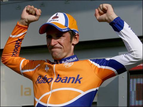 Vainqueur du Giro l'an passée et troisième du Tour de France en 2008...