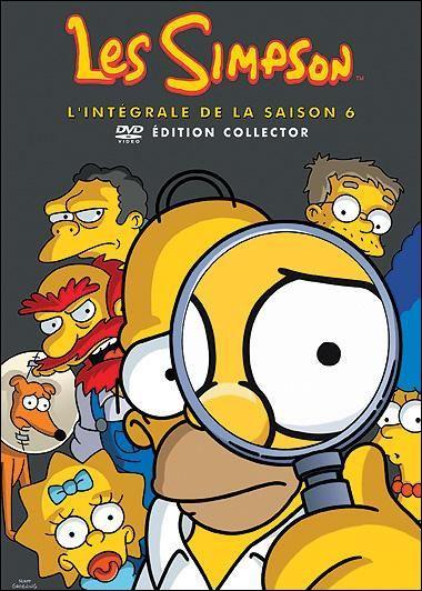 Combien d'épisodes comporte le DVD des Simpson saison 6 ?