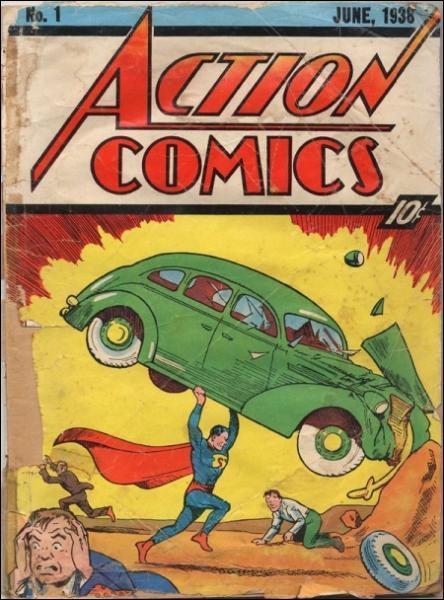 En quelle année Superman apparaît-il pour la première fois dans Action Comics ?