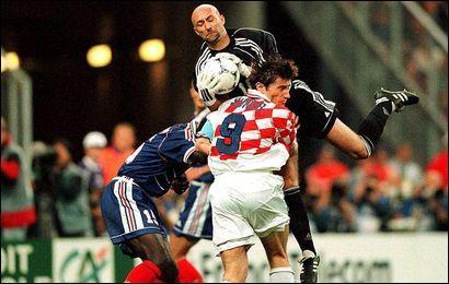 Qui a marqué lors de France-Croatie le 8 Juillet 1998 ?