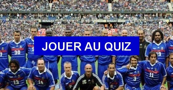 Les buteurs fran ais de la coupe du monde 1998 quiz qcm joueurs coupe - Joueur coupe du monde 98 ...