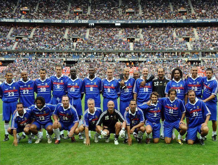 Les buteurs français de la Coupe du Monde 1998