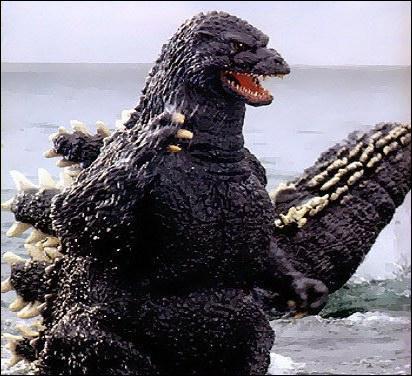 Contre quel monstre Godzilla a-t-il droit à son premier 'versus' dans le titre ?