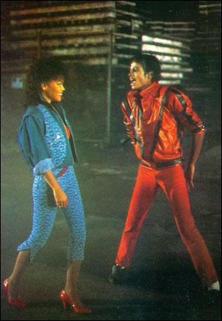D'où sort le couple au début du clip de Thriller ?