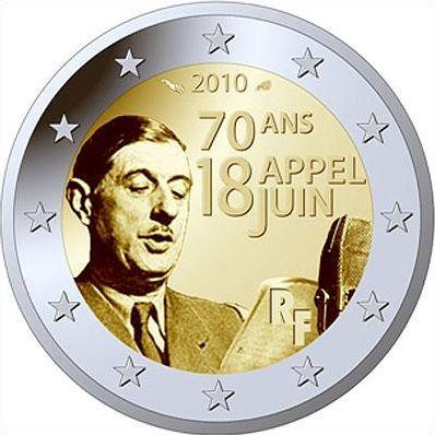 Pièces de 2 euros commémoratives numéro 2