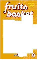 Qui est sur la couverture du troisième tome de Fruit Basket ?