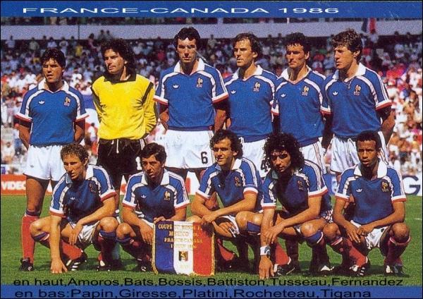 Quizz la france dans la coupe du monde de football quiz - Finale coupe du monde 1986 ...