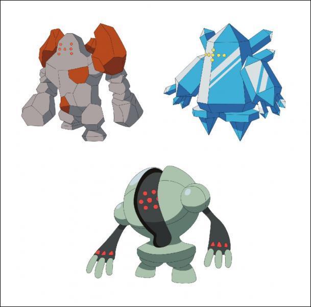 Comment s'appellent les trois regis ?