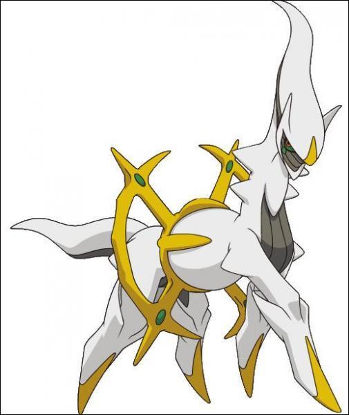 Je suis la divinité créatrice de l'univers et du monde Pokémon. Qui suis-je ?