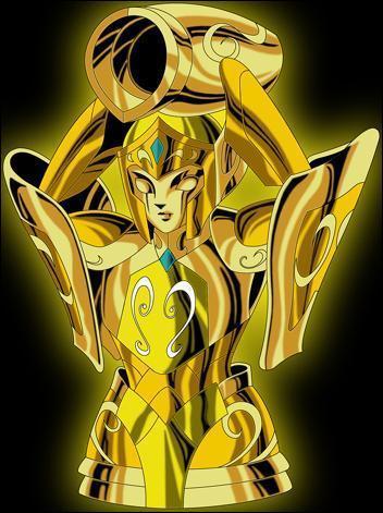 Quel est le nom du chevalier d'or du Verseau ?