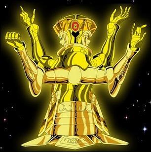 Quel est le nom du chevalier d'or du Gémeau ?