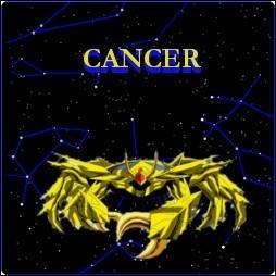 Quel est le nom du chevalier d'or du Cancer ?
