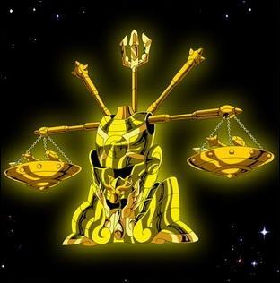 Quel est le nom du chevalier d'or de la Balance ?