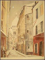 Qui a peint 'le Sacré Coeur de Montmartre' ?
