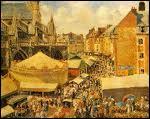 Qui a peint 'la foire à Dieppe' ?