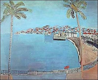 Qui a peint 'la Baie des Anges'