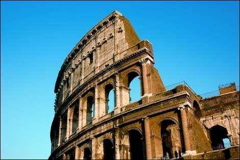Quel est le nom de cette arène Gallo-Romaine visible à Rome ?