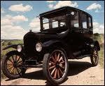 L'une des premières voitures à être construit en série aux Etas-Unis entre 1908 et 1927 ?