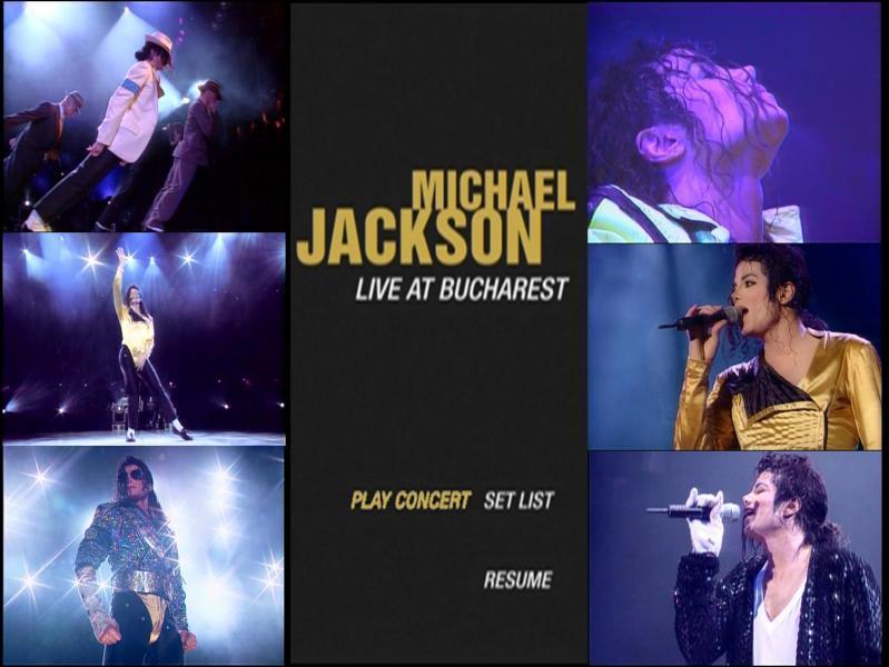 Un DVD montre un concert de Michael Jackson pendant le Dangerous World Tour, filmé à Bucarest mais en quelle année ?